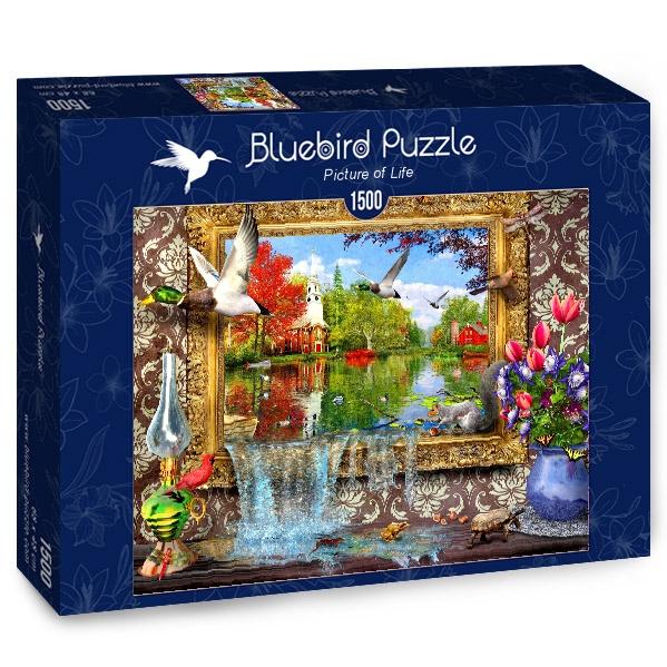 Puzzle Bluebird Cuadro de Vida de 1500 Piezas