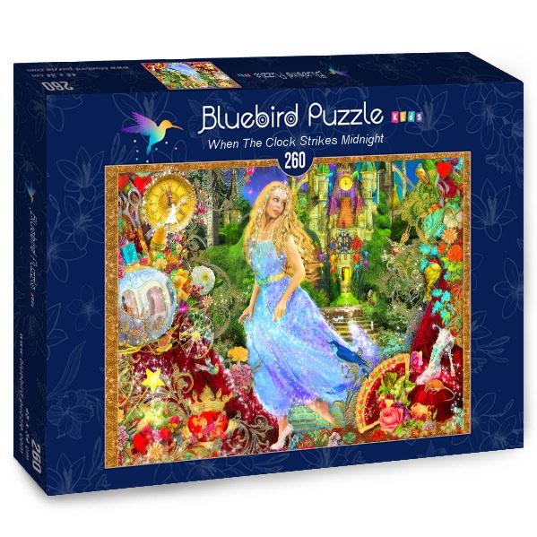 Puzzle Bluebird Cuando el Reloj Marca las Doce de 260 Piezas
