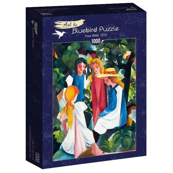 Puzzle Bluebird  Cuatro Chicas de 1000 Piezas