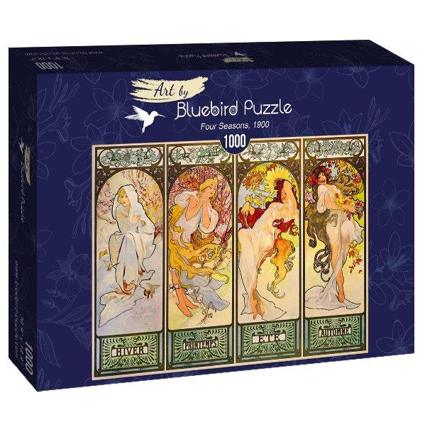 Puzzle Bluebird Cuatro Estaciones de 1000 Piezas