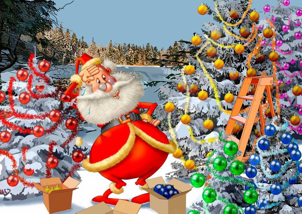 Puzzle Bluebird Cuenta Atrás para la Navidad de 500 Piezas