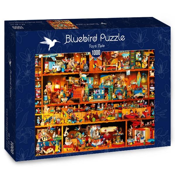 Puzzle Bluebird Juguetes Con Historia de 1000 Piezas