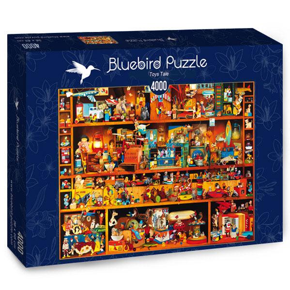 Puzzle Bluebird Cuento de Juguetes de 4000 Piezas