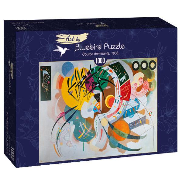 Puzzle Bluebird Curva Dominante de 1000 Piezas