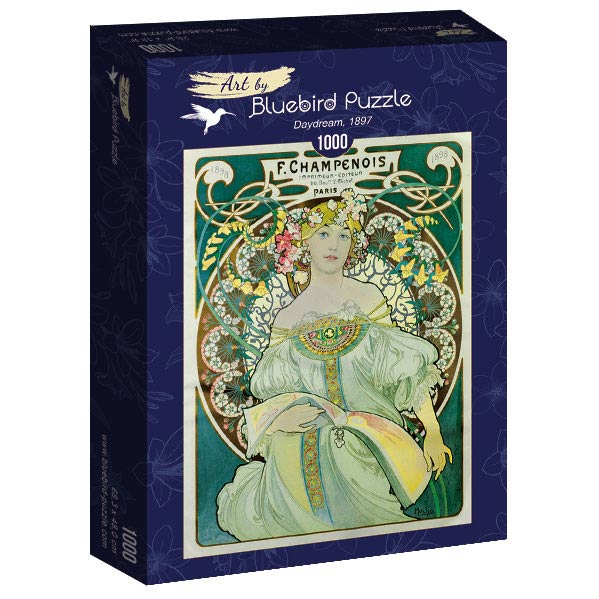 Puzzle Bluebird Daydream Champenois de 1000 Piezas