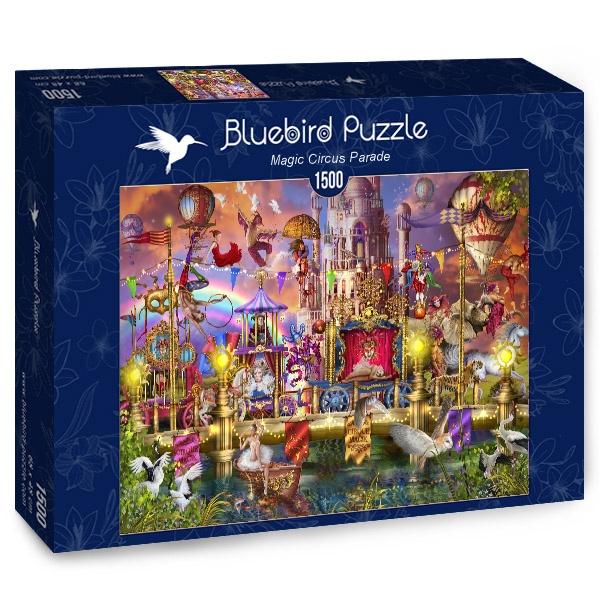 Puzzle Bluebird Desfile del Circo Mágico de 1500 Piezas
