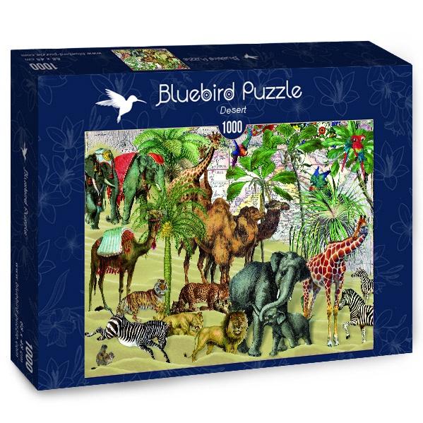 Puzzle Bluebird  Desierto de 1000 Piezas