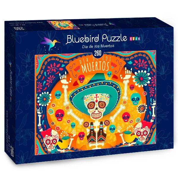 Puzzle Bluebird Día de los Muertos de 260 Piezas