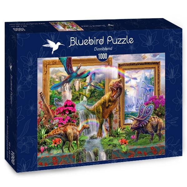 Puzzle Bluebird Dinosaurios de 1000 Piezas