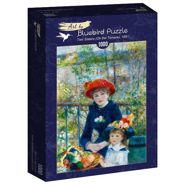 Puzzle Bluebird Dos Hermanas (En la Terraza) de 1000 Piezas