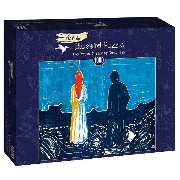 Puzzle Bluebird Dos Personas, Los Solitarios de 1000 Piezas