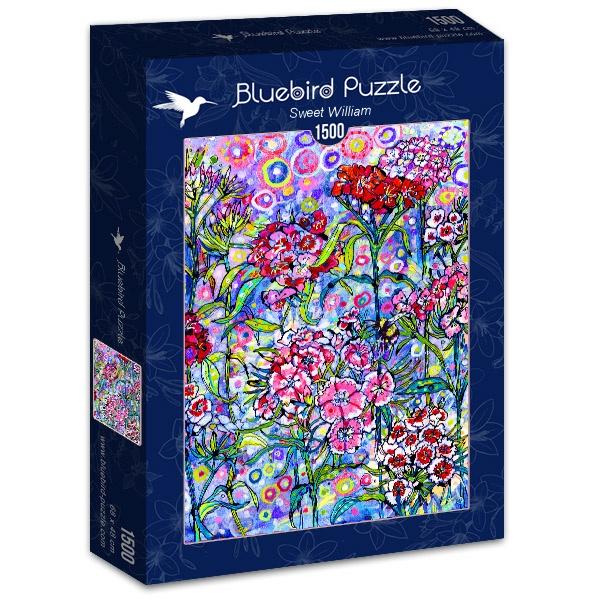 Puzzle Bluebird Dulce William de 1500 Piezas