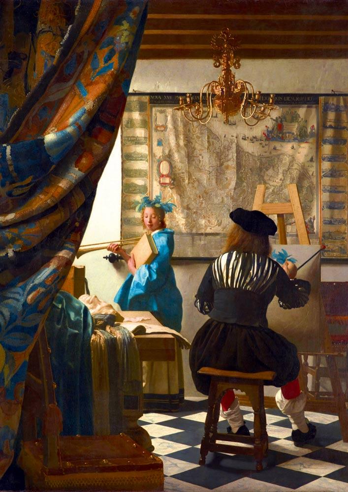 Puzzle Bluebird El Arte de la Pintura de 1000 Piezas