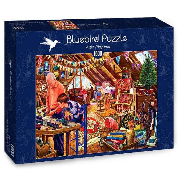 Puzzle Bluebird El Ático de los Juegos de 1500 Piezas