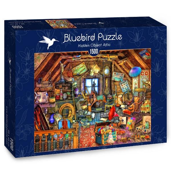Puzzle Bluebird El Ático de los Objetos Ocultos de 1500 Piezas