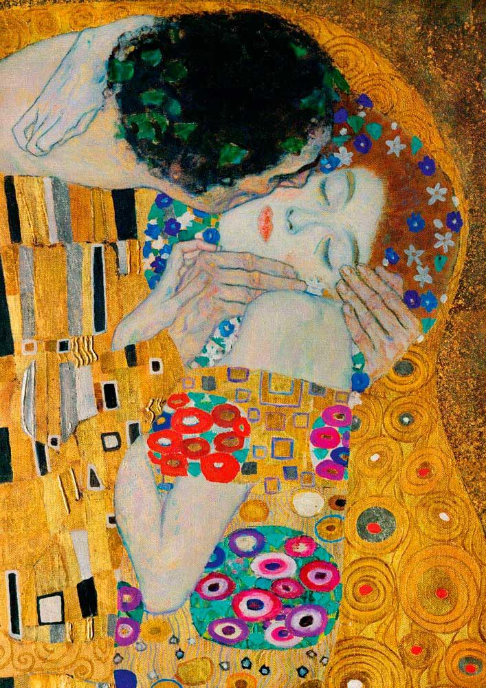 Puzzle Bluebird El Beso (Detalle) de 1000 Piezas