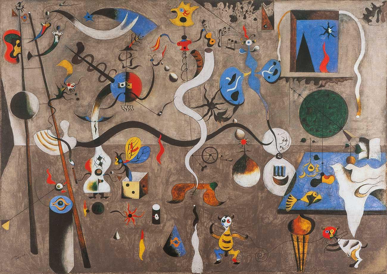 Puzzle Bluebird El Carnaval del Arlequín de 1000 Pzs