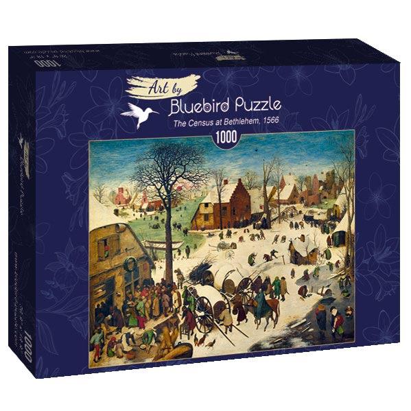 Puzzle Bluebird El Censo en Belén de 1000 Piezas