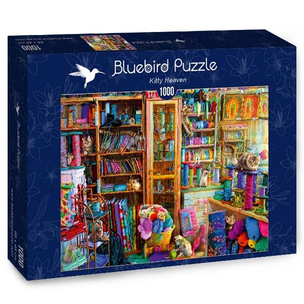 Puzzle Bluebird El Cielo de los Gatos de 1000 Piezas