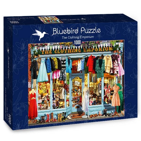 Puzzle Bluebird El Emporio de la Ropa de 1000 Piezas