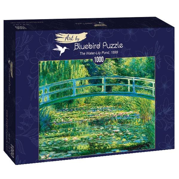 Puzzle Bluebird El Estanque de Nenúfares de 1000 Piezas