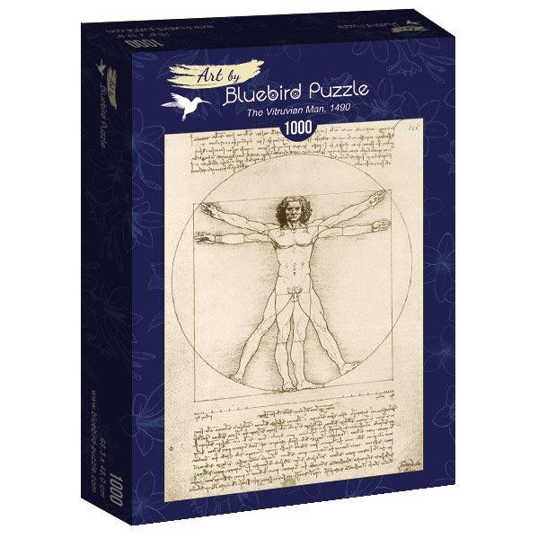 Puzzle Bluebird El Hombre de Vitruvio de 1000 Piezas