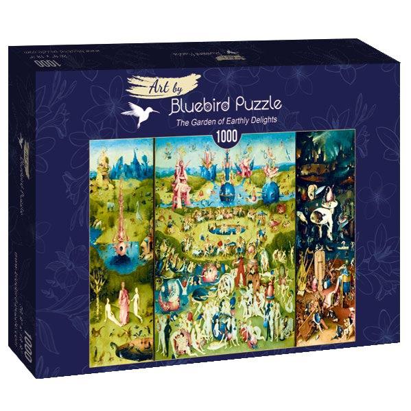 Puzzle Bluebird El Jardín de las Delicias de 1000 Piezas