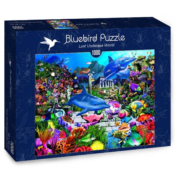 Puzzle Bluebird El Mundo Submarino Perdido de 1000 Piezas