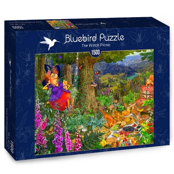 Puzzle Bluebird El Picnic de la Bruja de 1500 Piezas