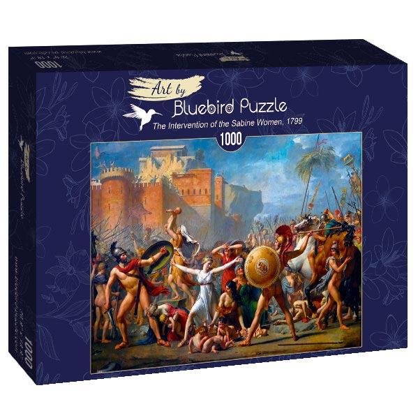 Puzzle Bluebird El Rapto de Las Sabinas de 1000 Piezas