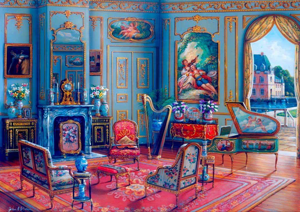 Puzzle Bluebird El Salón de Música de 1000 Piezas