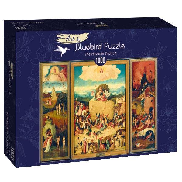 Puzzle Bluebird El Tríptico del Carro de Heno de 1000 Piezas