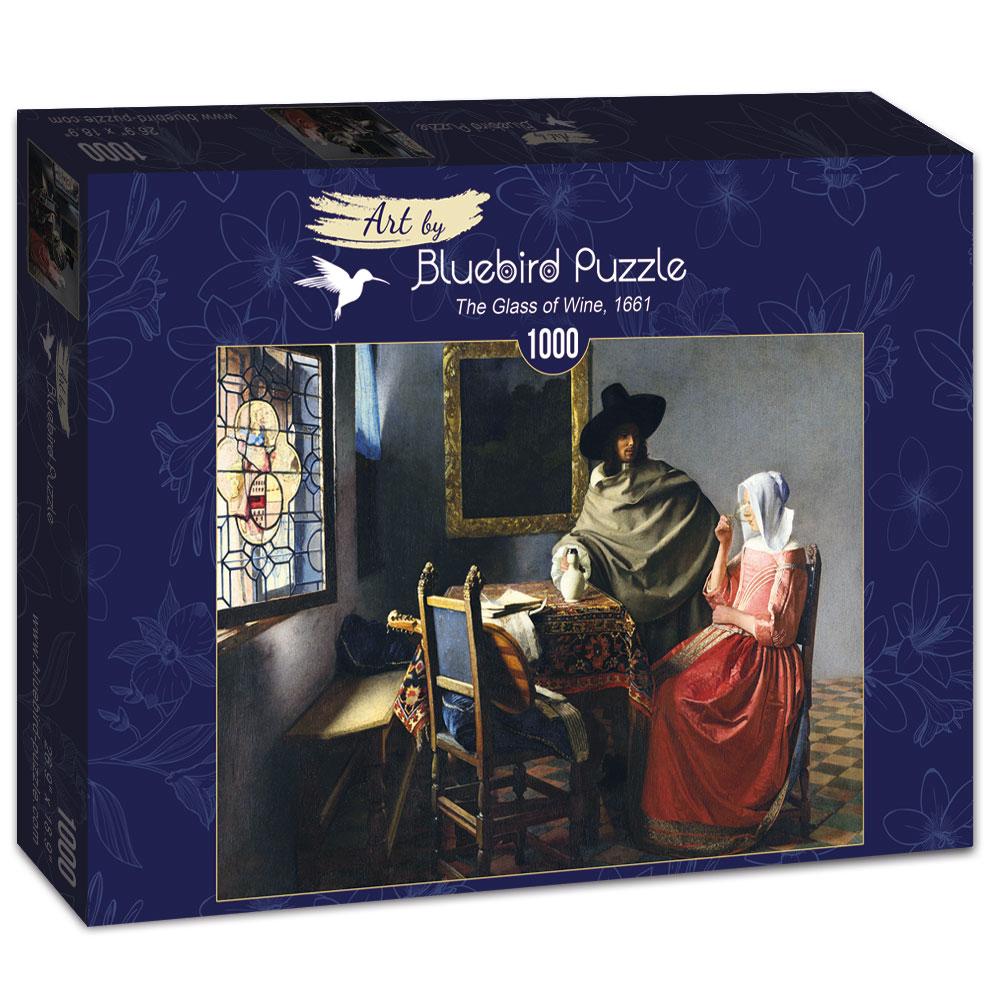 Puzzle Bluebird El Vaso de Vino de 1000 Piezas