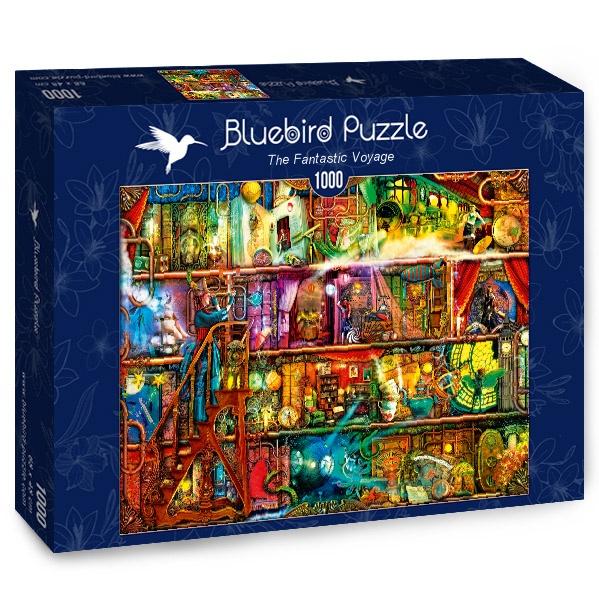 Puzzle Bluebird El Viaje Fantástico de 1000 Piezas