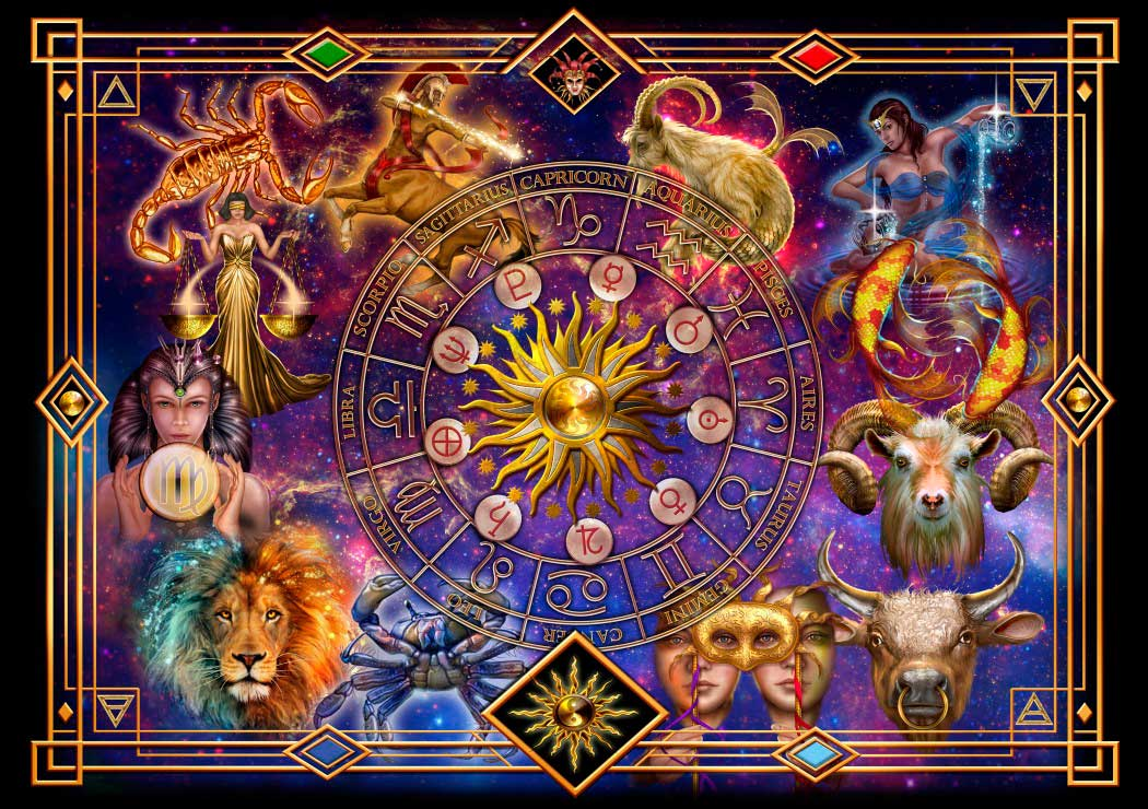 Puzzle Bluebird El Zodiaco de 1000 Piezas