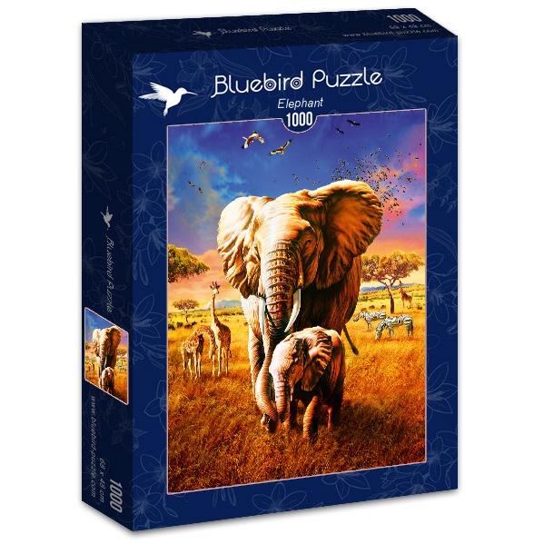 Puzzle Bluebird Elefante de 1000 Piezas