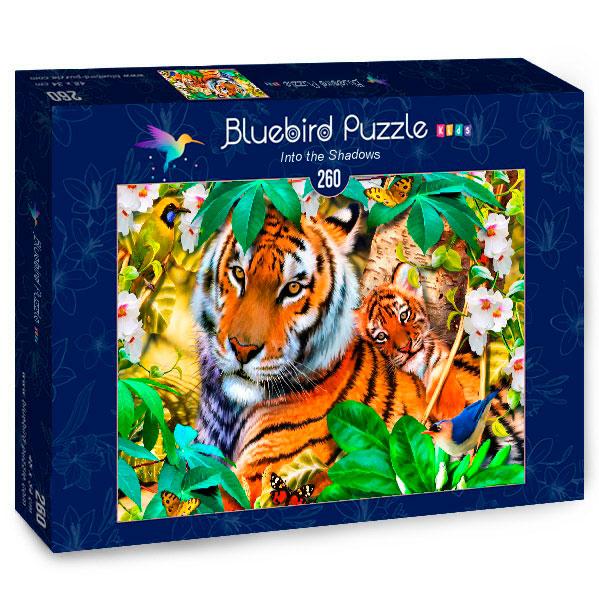 Puzzle Bluebird Entre Las Sombras de 260 Piezas
