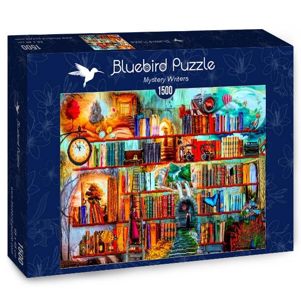 Puzzle Bluebird Escritores Misteriosos de 1500 Piezas