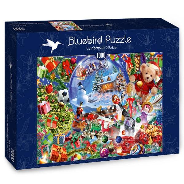 Puzzle Bluebird Esfera de Navidad de 1000 Piezas