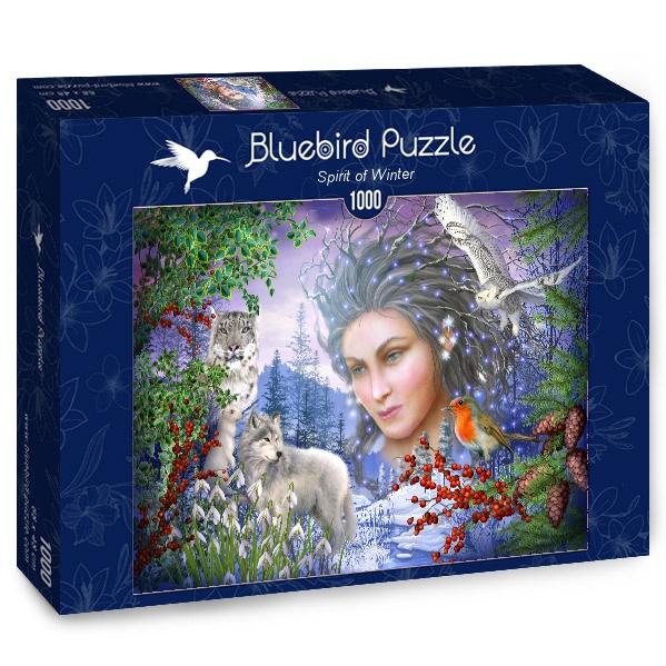 Puzzle Bluebird Espíritu de Invierno de 1000 Piezas