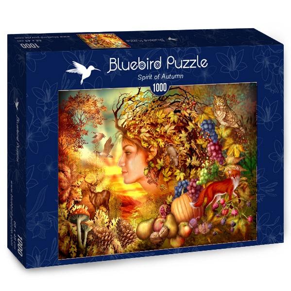 Puzzle Bluebird Espíritu de Otoño de 1000 Piezas