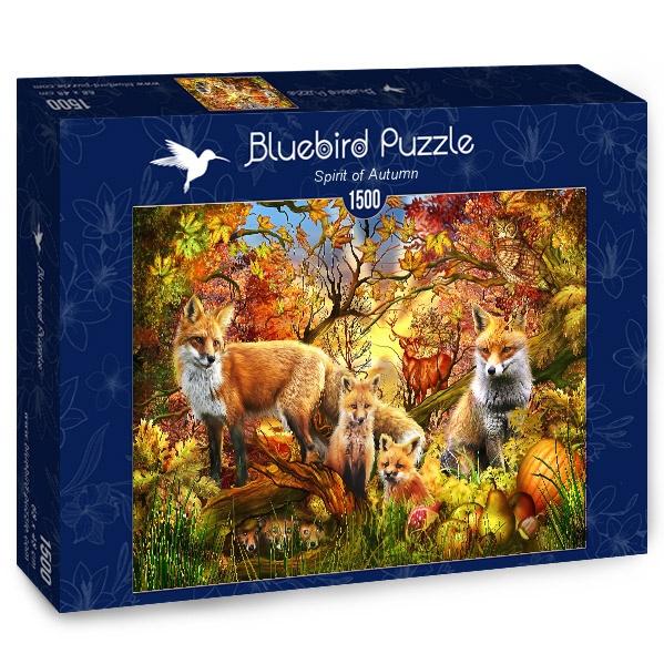 Puzzle Bluebird Espíritu de Otoño de 1500 Piezas