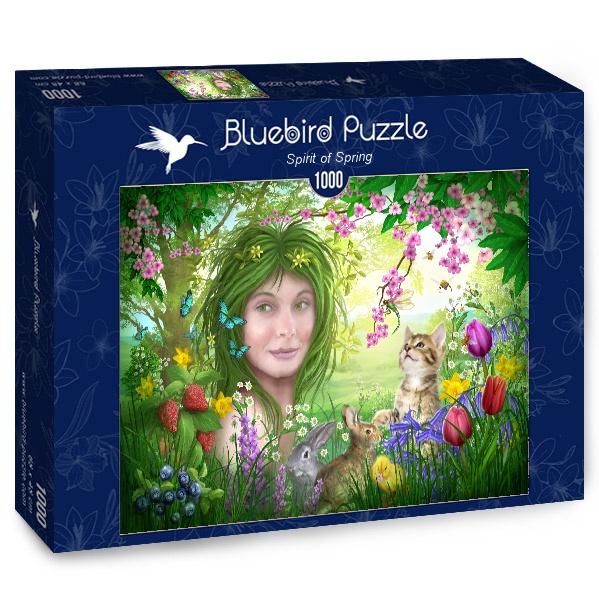 Puzzle Bluebird Espíritu de Primavera de 1000 Piezas