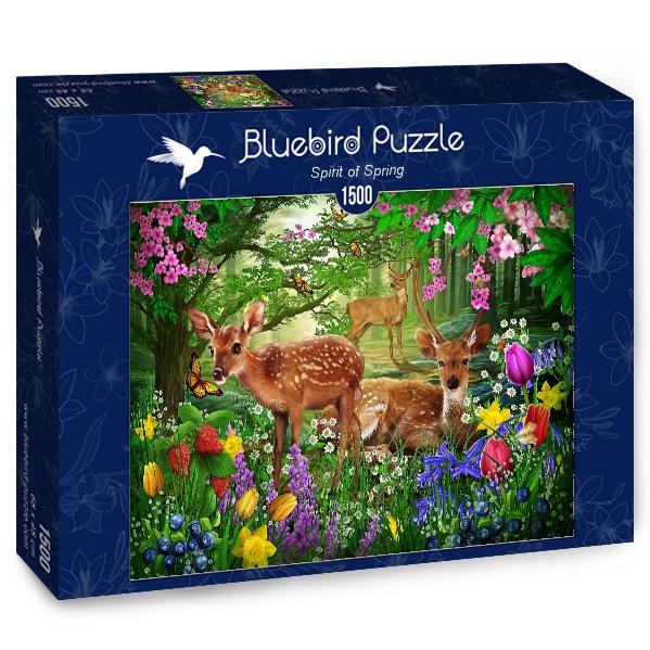 Puzzle Bluebird Espíritu de Primavera de 1500 Piezas