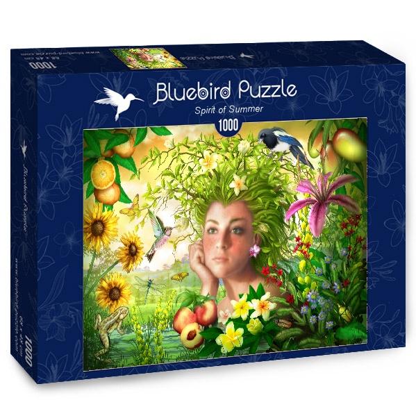 Puzzle Bluebird Espíritu de Verano de 1000 Piezas