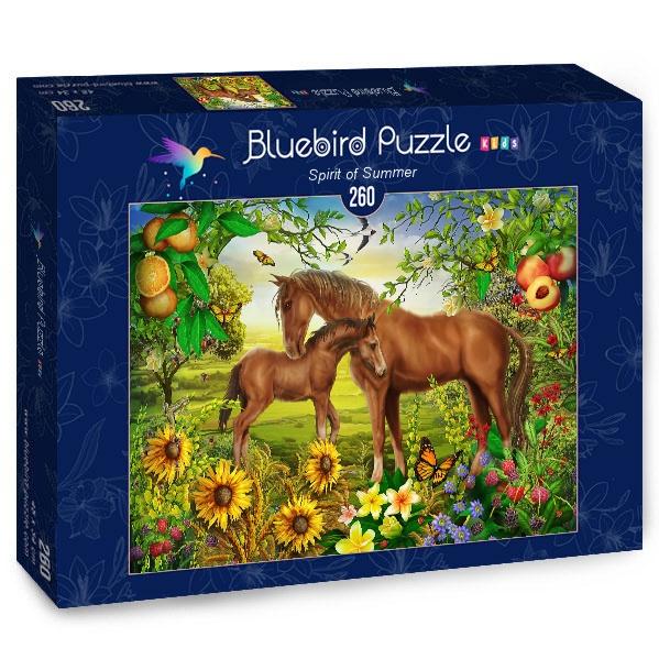 Puzzle Bluebird Espíritu de Verano de 260 Piezas
