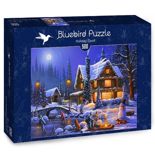 Puzzle Bluebird Espíritu Festivo de 500 Piezas
