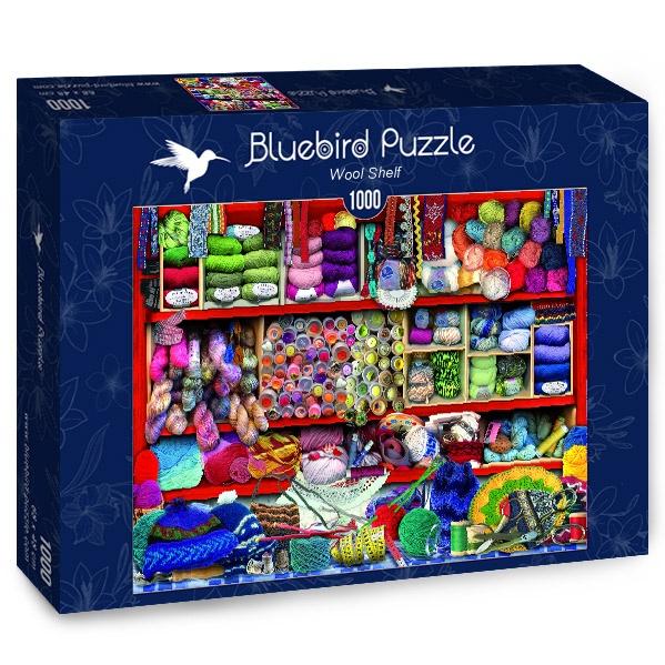 Puzzle Bluebird Estantería de Mercería de 1000 Piezas