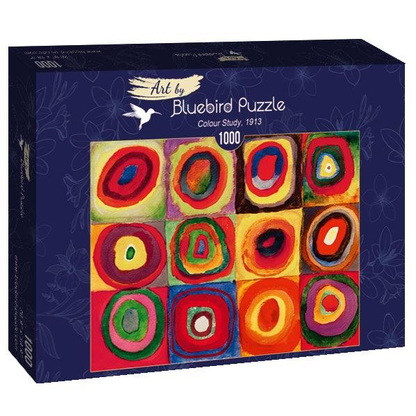 Puzzle Bluebird Estudio de Color de 1000 Piezas