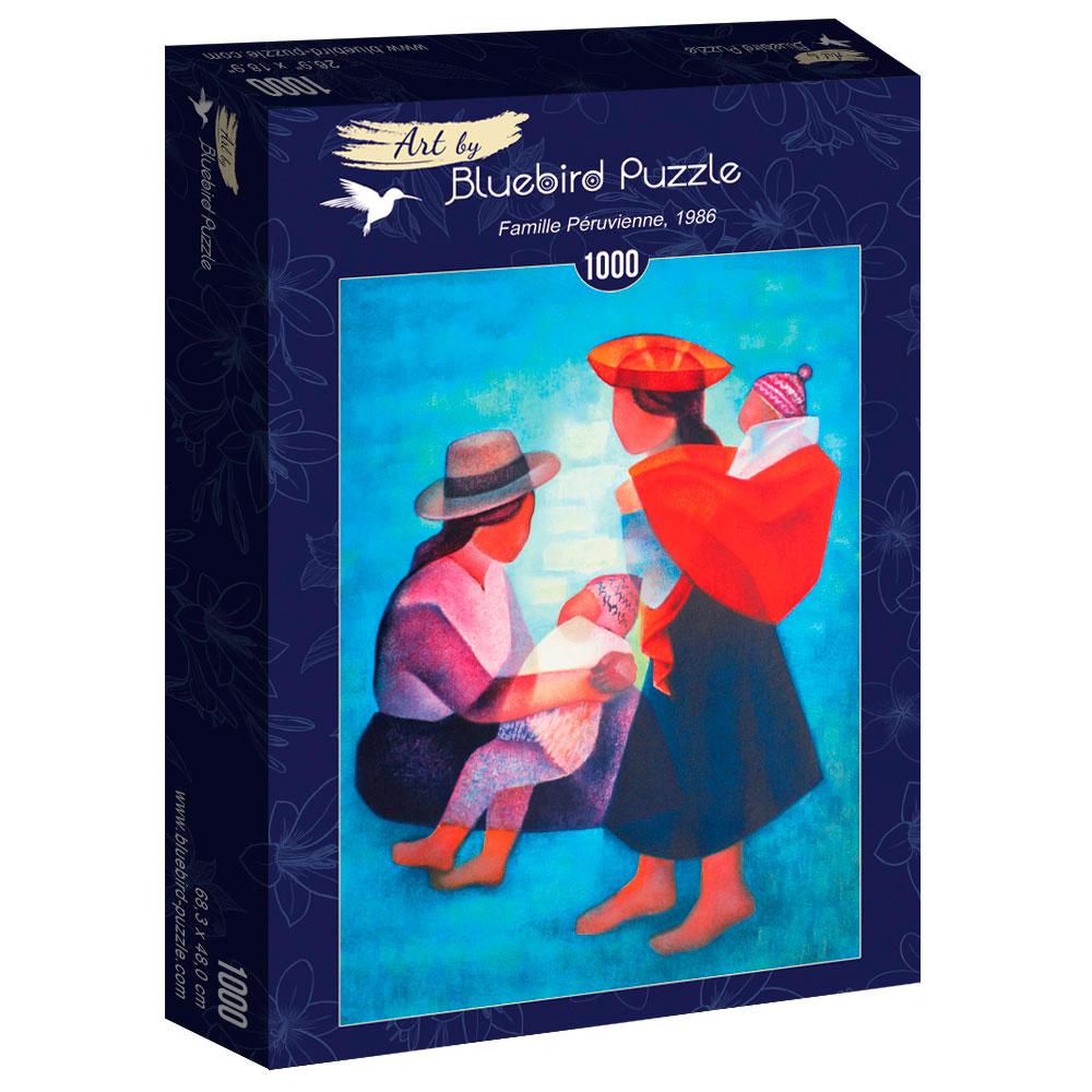 Puzzle Bluebird Familia Peruana 1000 Piezas